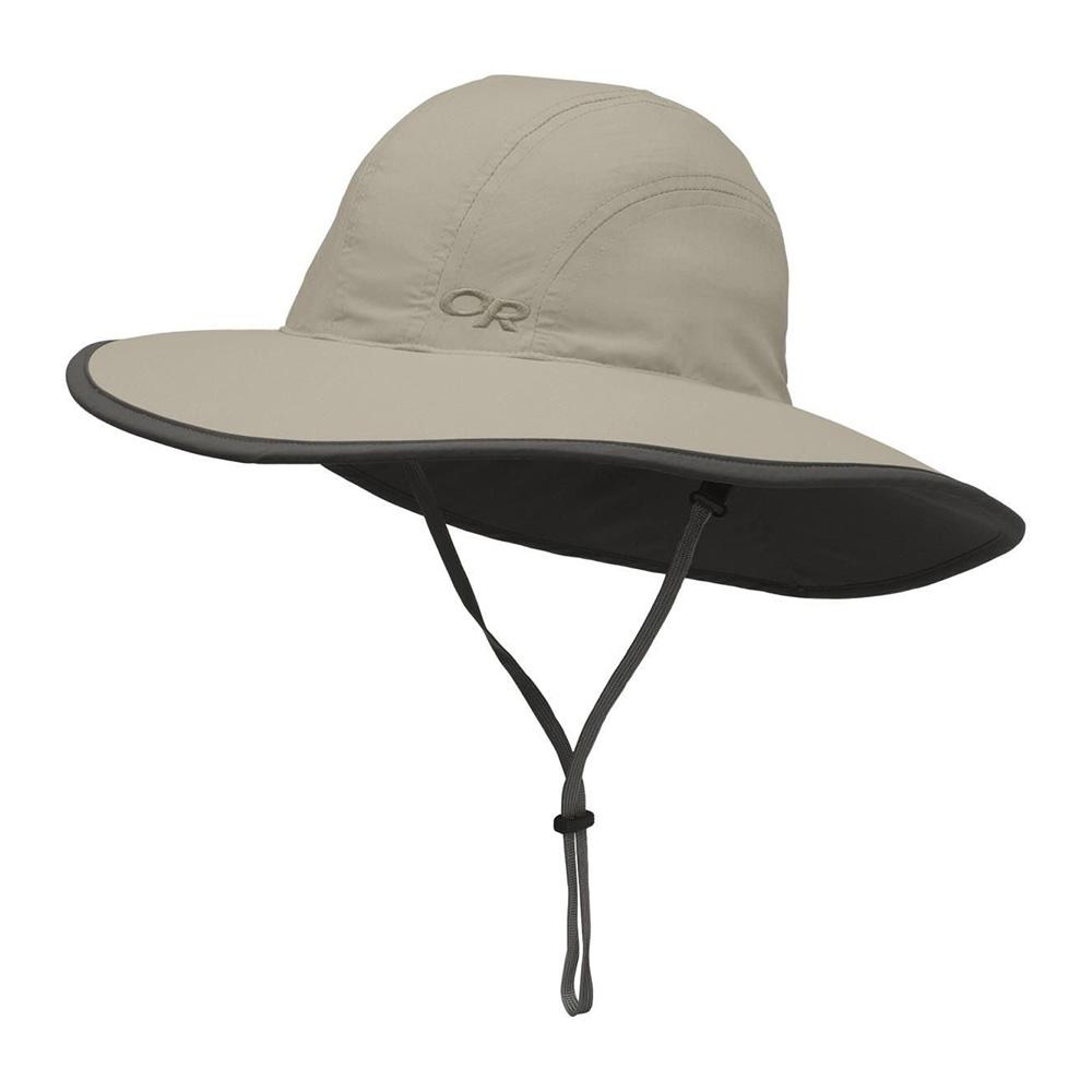 Детска шапка с периферия Outdoor Research Kids Rambler Sun Sombrero Khaki 2020