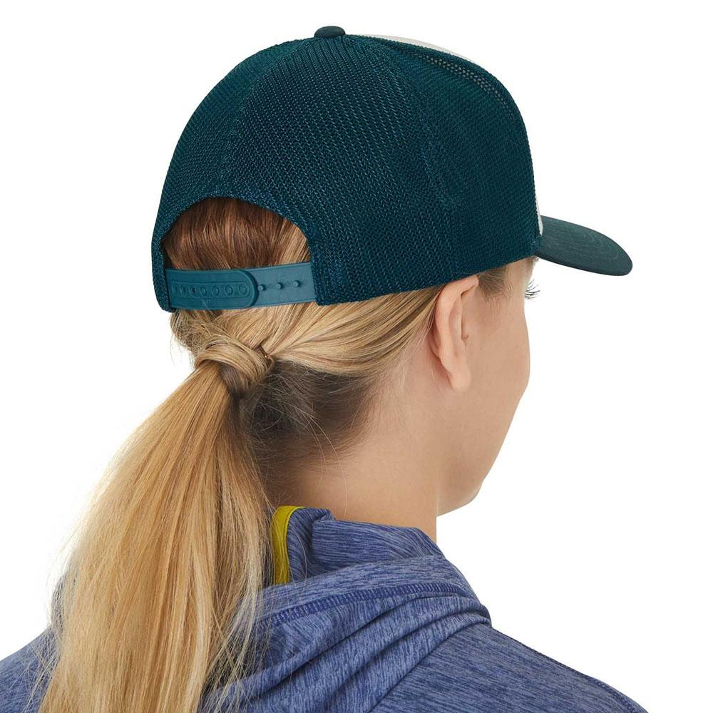 Гръб на шапка с козирка Outdoor Research Tree Fort Trucker Cap Mediterranean 2020