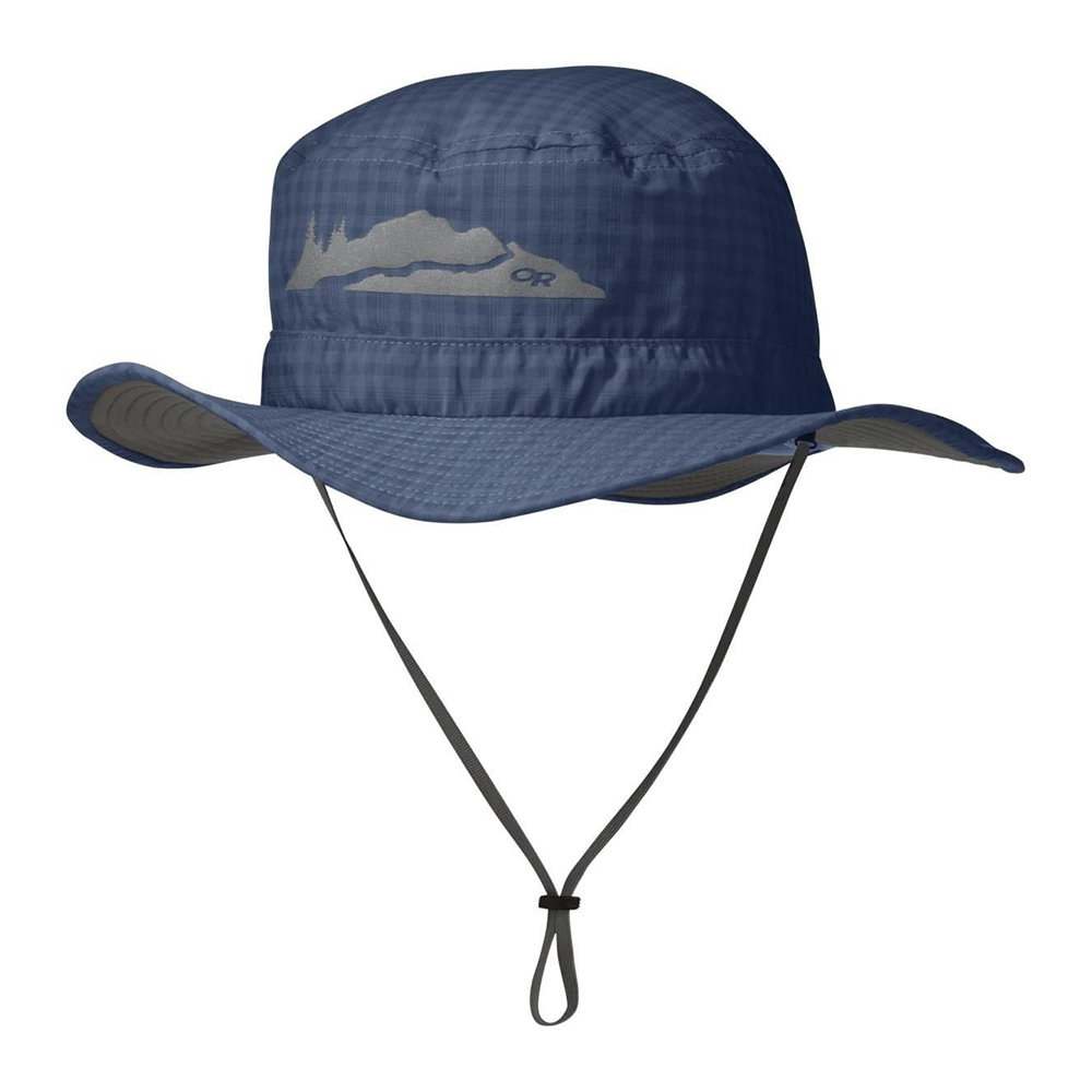 Детска шапка с периферия Outdoor Research Helios Sun Hat Dusk 2020