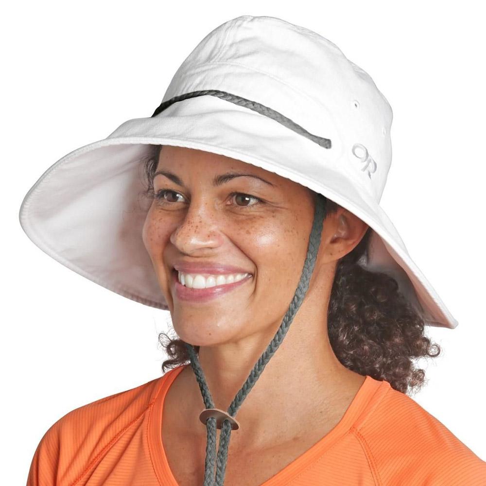 Лице на дамска лятна шапка Outdoor Research Mojave Sun Hat Sand 2020