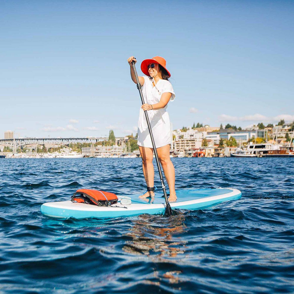 Paddle board с дамска лятна шапка Outdoor Research Mojave Sun Hat Sand 2020
