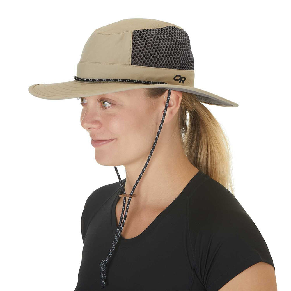 Tуристическа шапка с периферия Outdoor Research Nomad Sun Hat