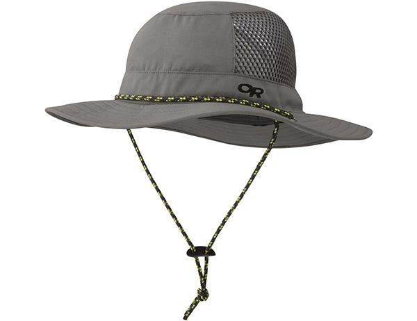 Туристическа шапка с периферия Outdoor Research Nomad Sun Hat Pewter 2020