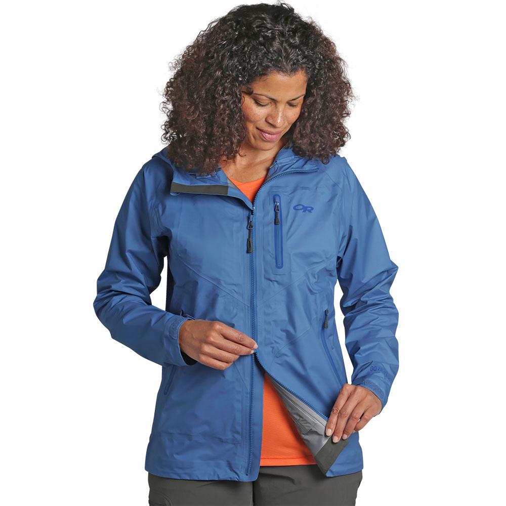 2 way opening Outdoor Research Women Optimizer Jacket