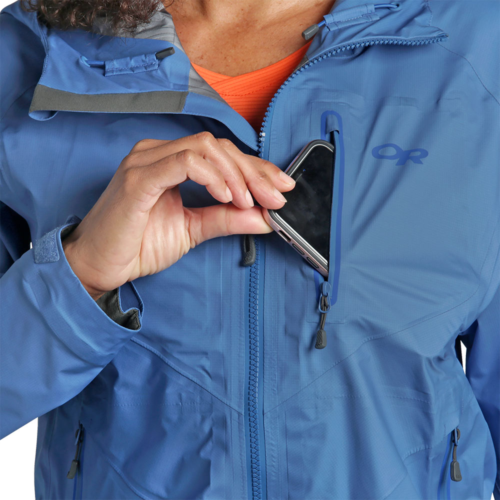 Chest pocket Outdoor Research Women Optimizer Jacket