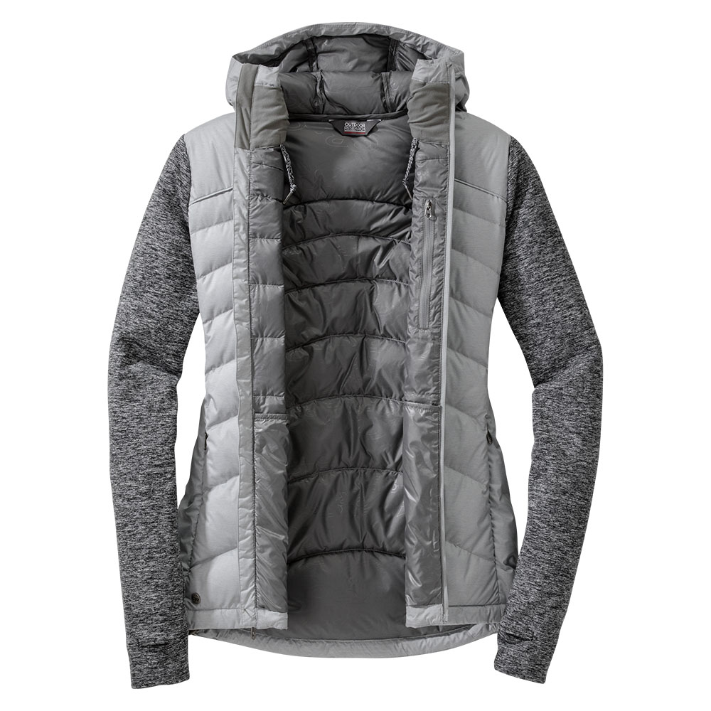 Inside Outdoor Research Plaza Down Jacket