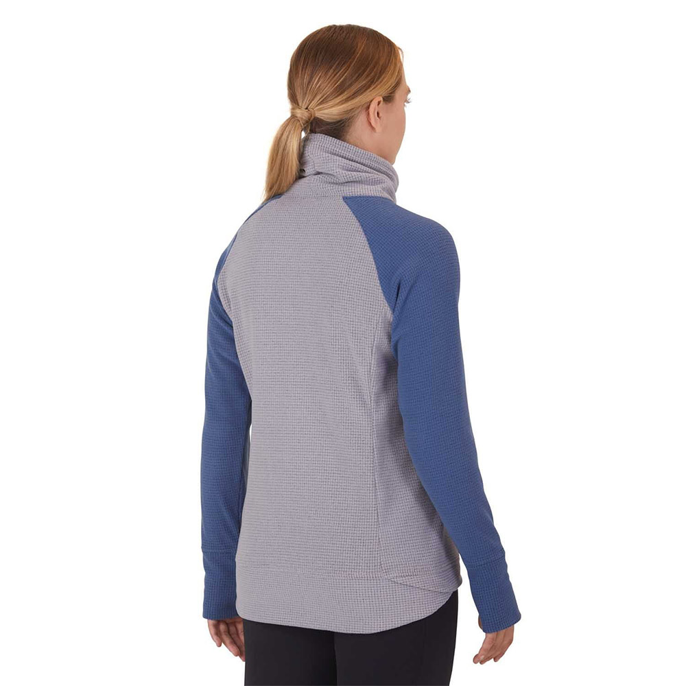 Гръб на поларен пуловер Outdoor Research Trail Mix Cowl Pullover Mediterranean 2020