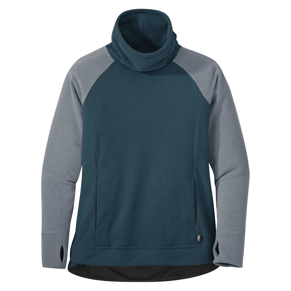 поларен пуловер Outdoor Research Trail Mix Cowl Pullover Mediterranean 2020