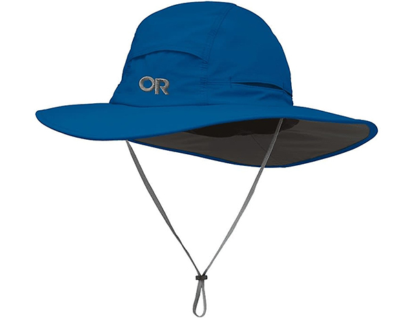 Туристическа шапка с периферия Outdoor Research Sombriolet Sun Hat Cascade 2021