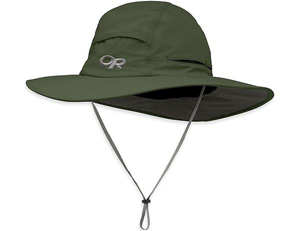 Туристическа шапка с периферия Outdoor Research Sombriolet Sun Hat Fatigue 2021