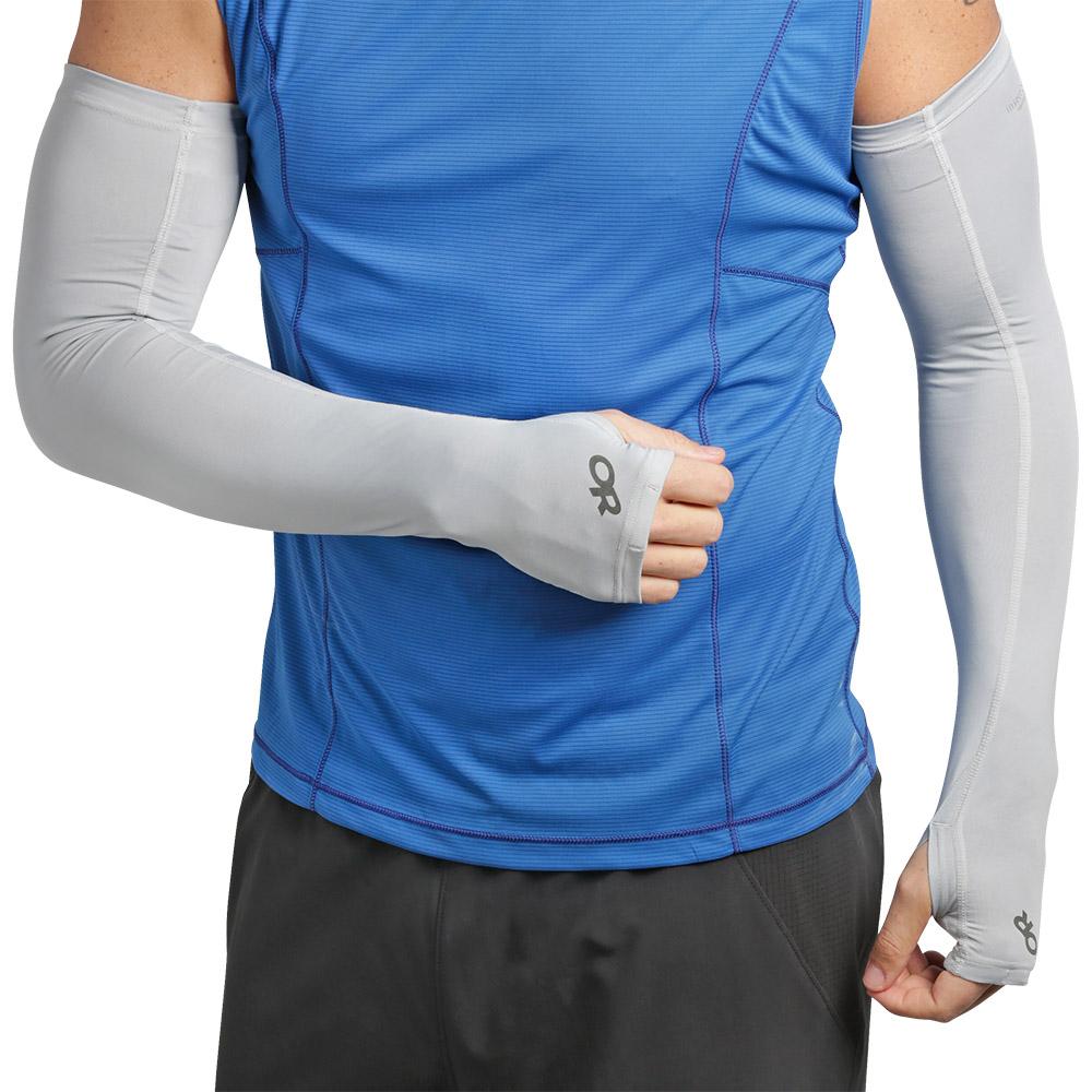 Слънцезащитни ръкави Outdoor Research ActiveIce Sun Sleeves Titanium 2021