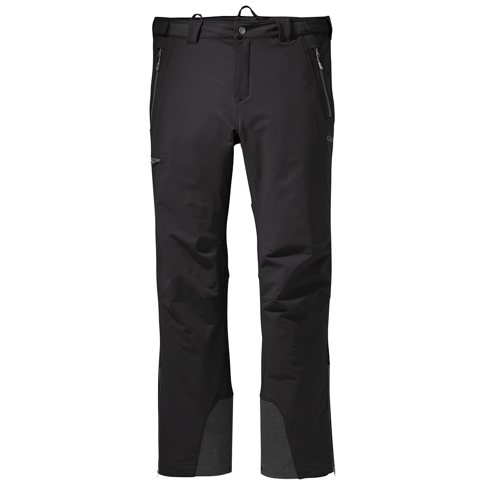 Мъжки софтшел панталон Outdoor Research Cirque Pants II Black 2021