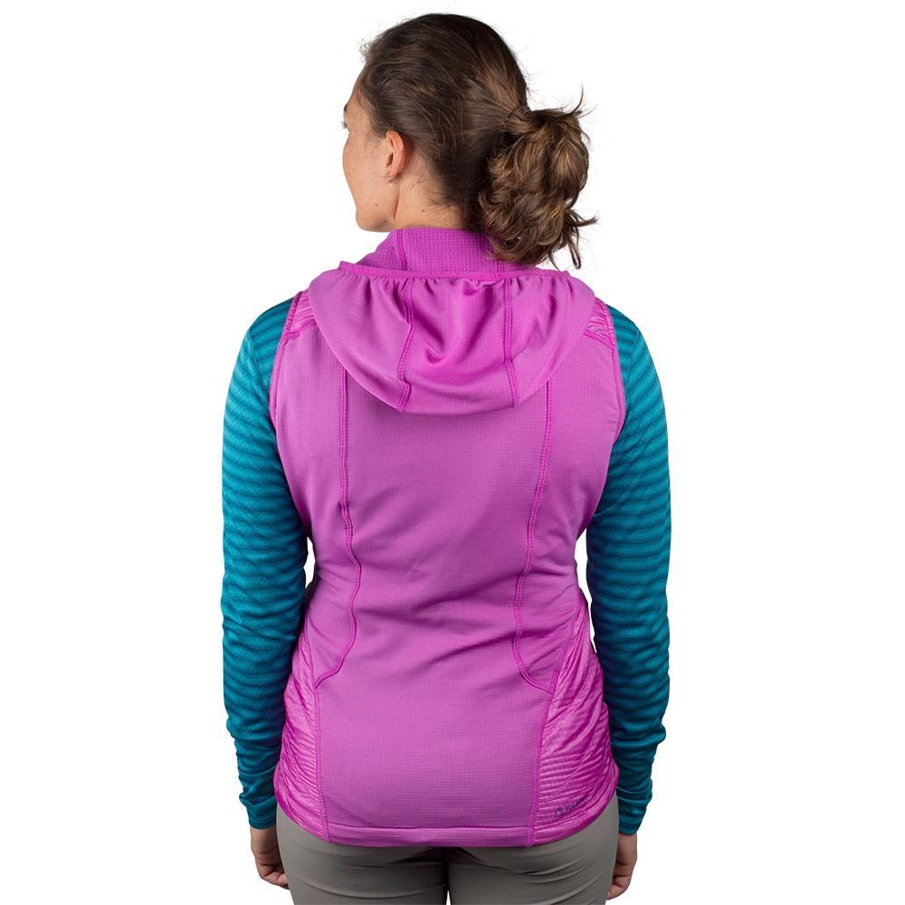 Back Outdoor Research Deviator Hooded Vest Ultraviolet 2021