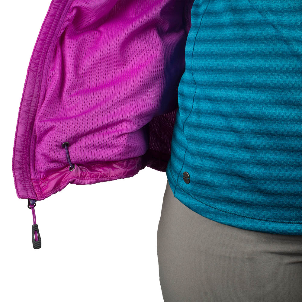 Elastic string Outdoor Research Deviator Hooded Vest Ultraviolet 2021