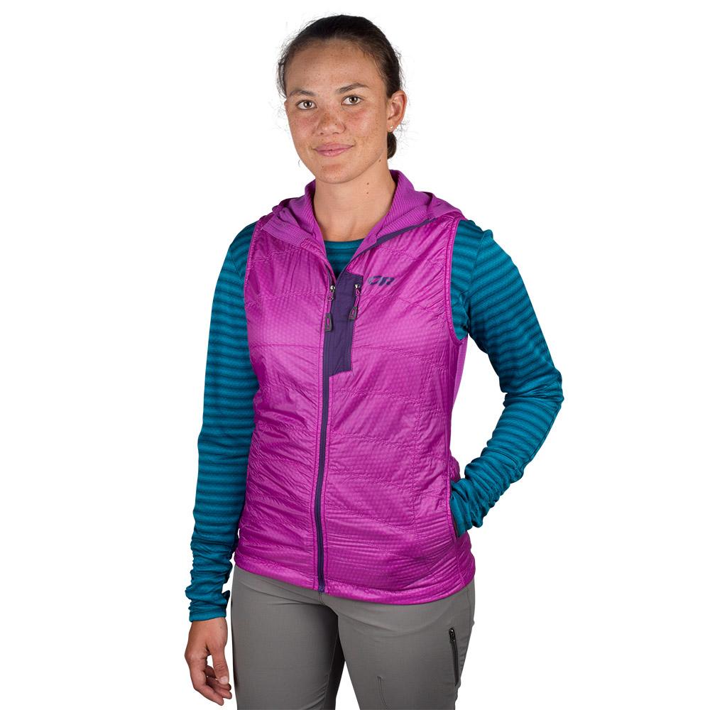 Face Outdoor Research Deviator Hooded Vest Ultraviolet 2021