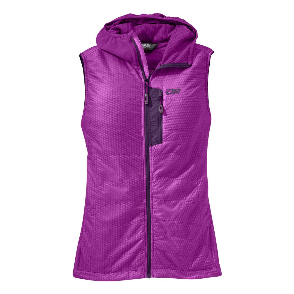 Outdoor Research Deviator Hooded Vest Ultraviolet 2021
