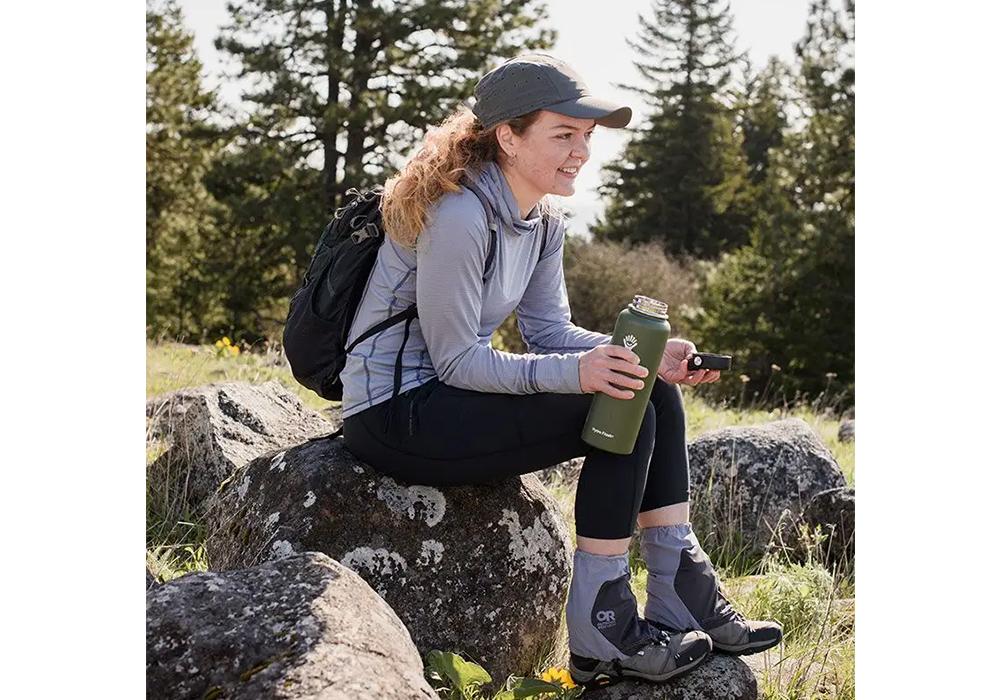 Туристическа шапка с пустинен шал Outdoor Research Equinox Cape