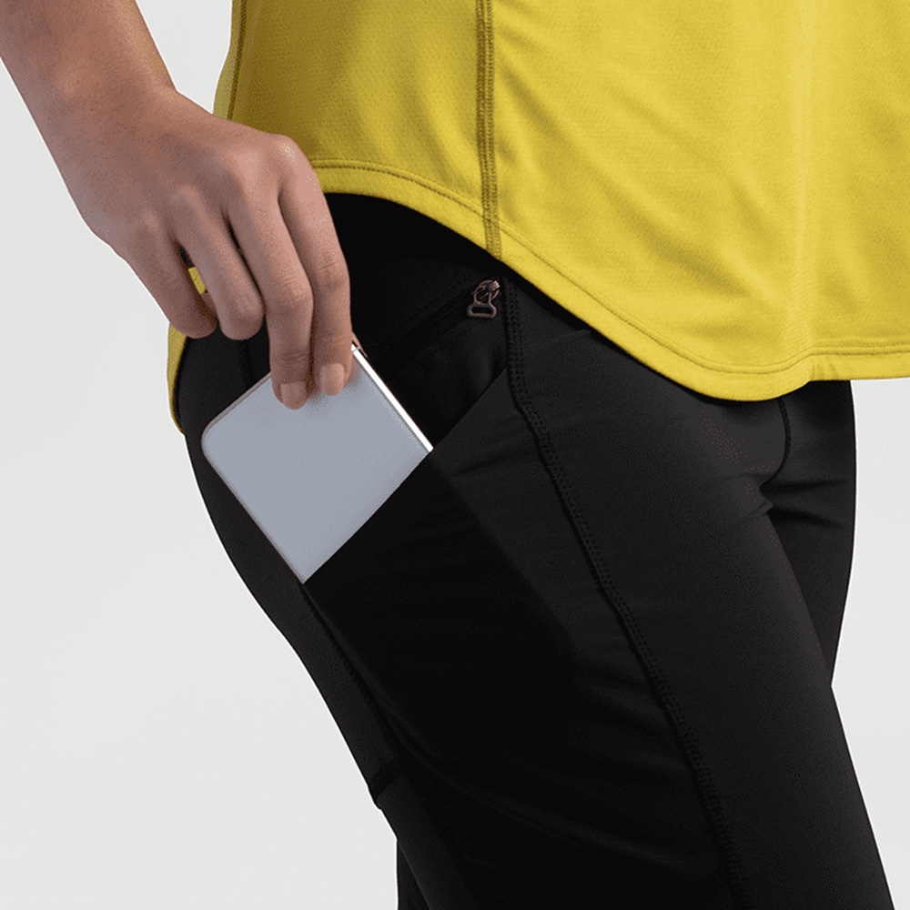 Еластични джобове на дамски софтшел клин Outdoor Research Ferrosi Leggings Black 2021
