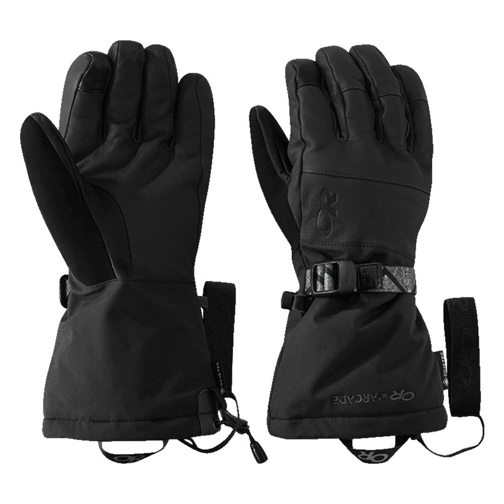 Мъжки ръкавици за ски и алпинизъм Outdoor Research Carbide Sensor Gloves Black / Storm