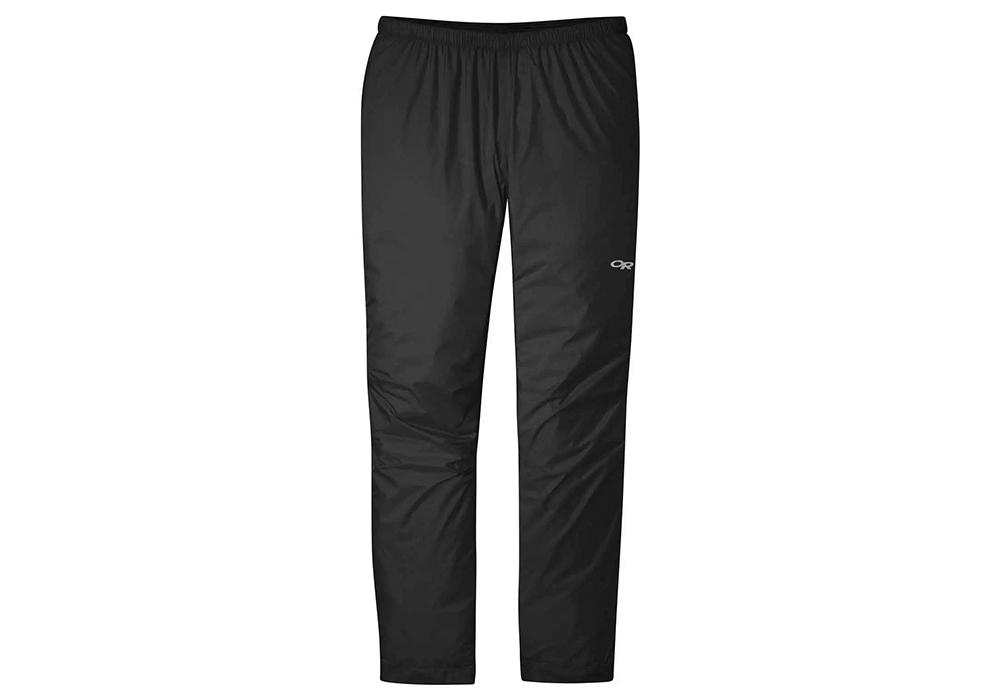 Мъжки хардшел панталон Outdoor Research Helium Rain Pants Black 2021
