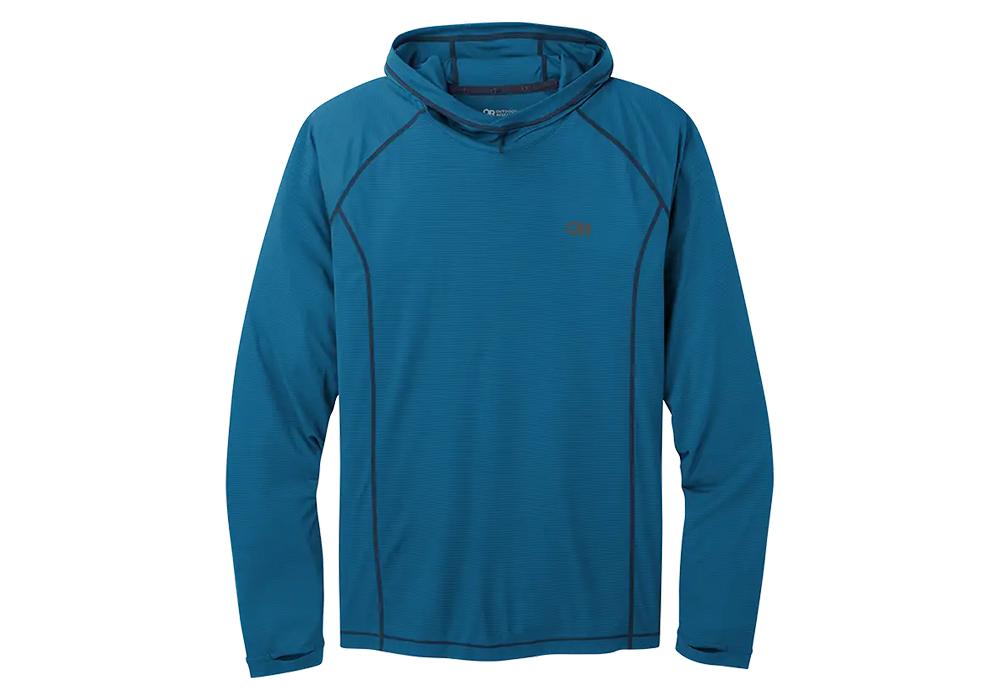 Мъжка спортна блуза с дълъг ръкав Outdoor Research Echo Hoody Cascade 2021
