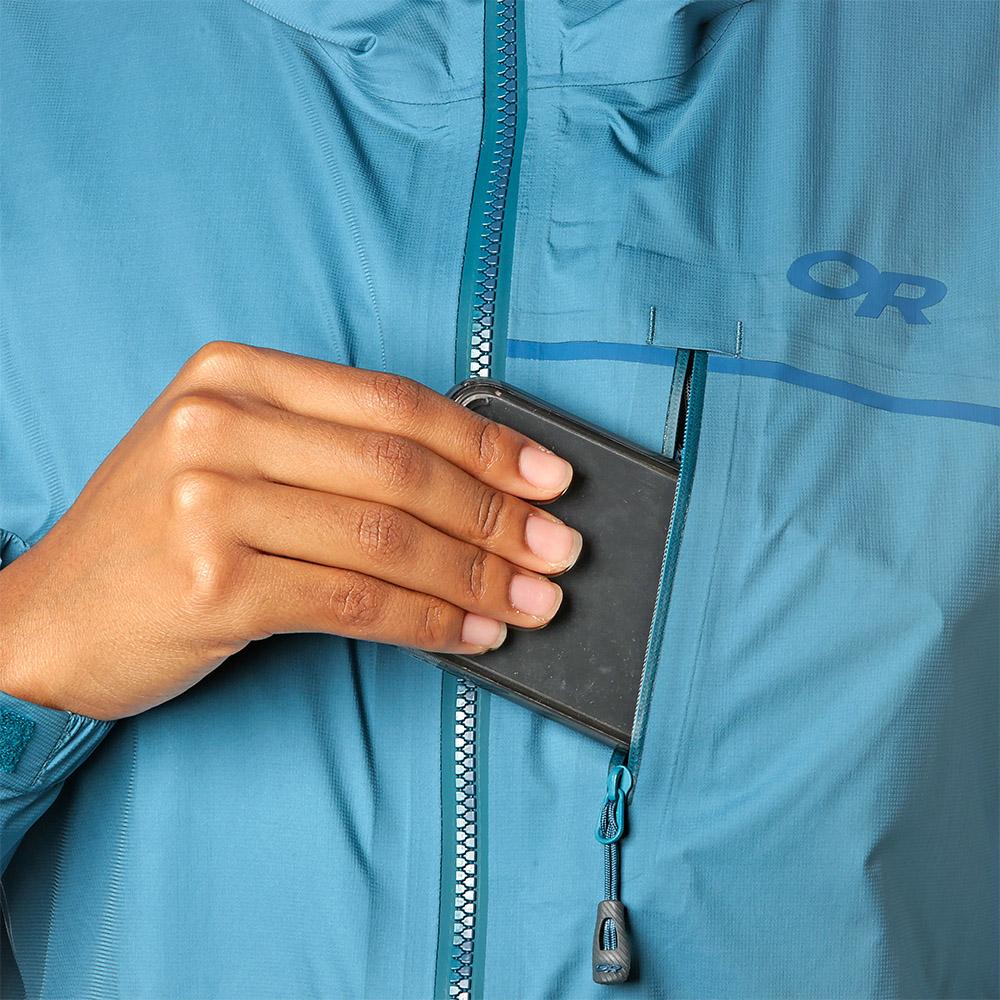 Chest pocket Outdoor Research Women's Interstellar Jacket