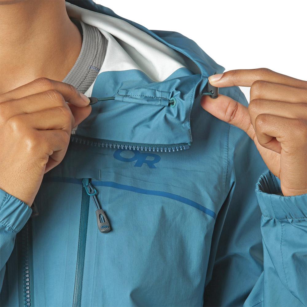 Hood adjustment Outdoor Research Women's Interstellar Jacket