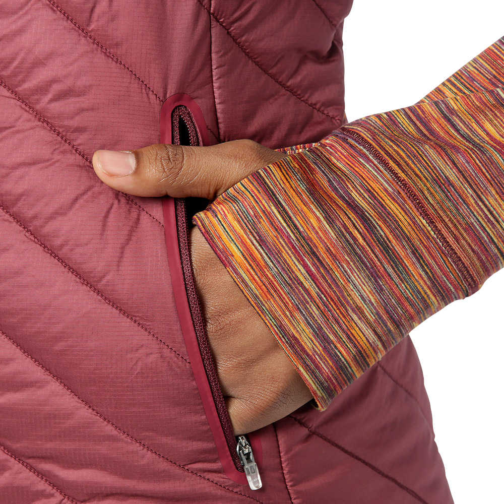 Side pockets Outdoor Research Melody Hybrid Full Zip