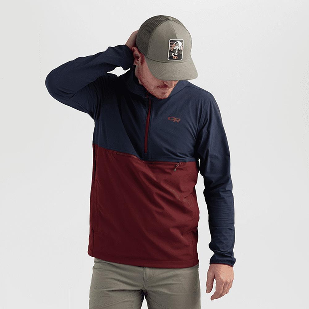 шапка с козирка Outdoor Research Squatchin' Trucker Cap Cafe 2021