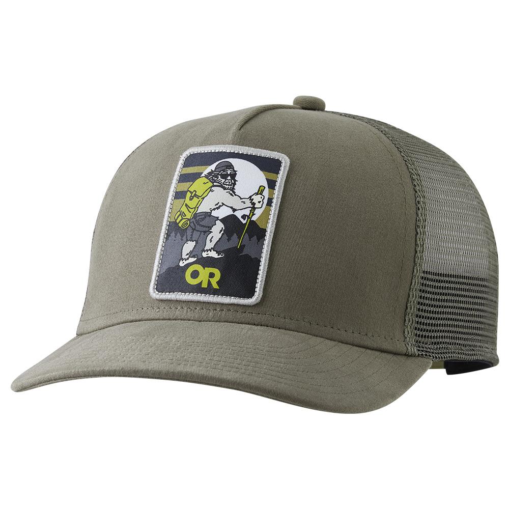 Лице на шапка с козирка Outdoor Research Squatchin' Trucker Cap Cafe 2021