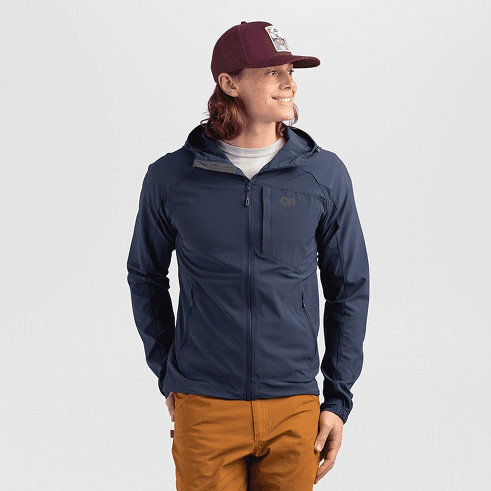 Профил на шапка с козирка Outdoor Research Squatchin' Trucker Cap Burgundy 2021