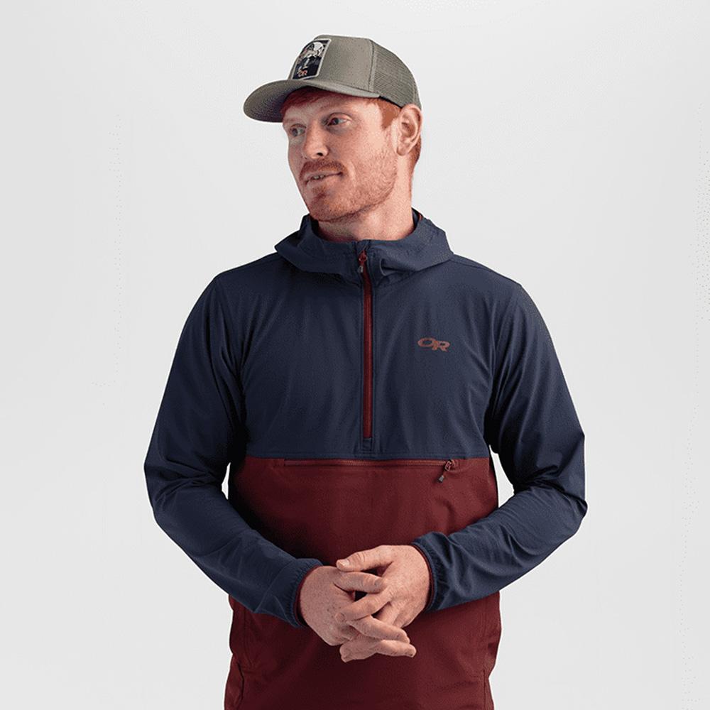 Профил на шапка с козирка Outdoor Research Squatchin' Trucker Cap Cafe 2021