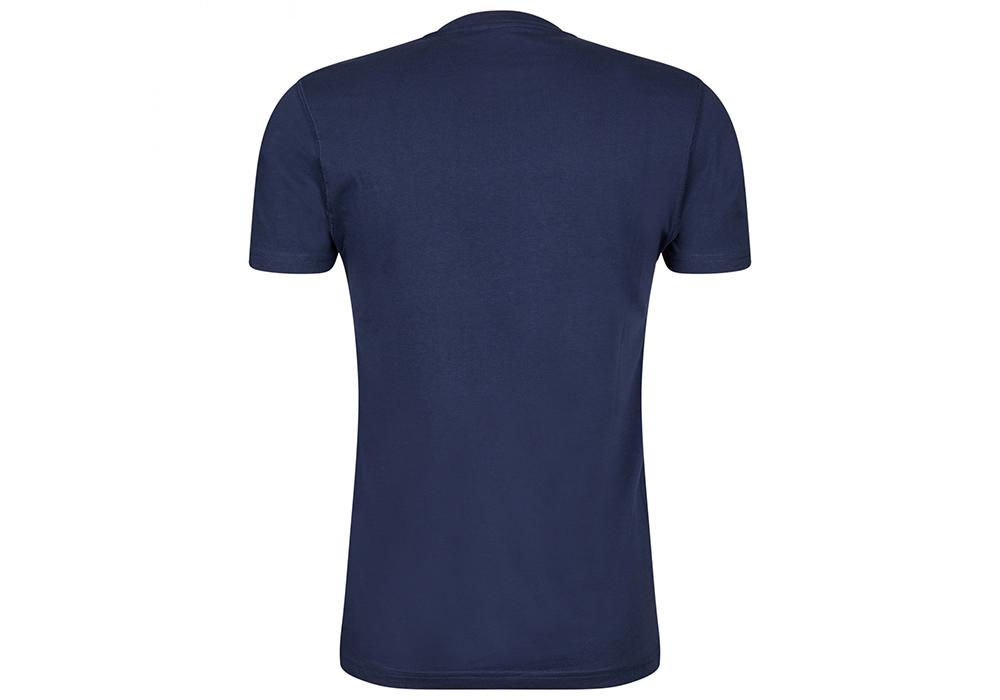 Гръб на мъжка тениска Outdoor Research Toolkit Tee Naval Blue 2021
