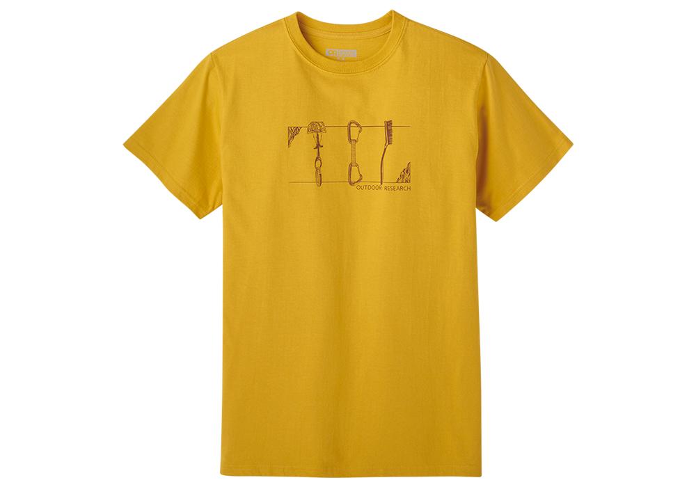 Мъжка тениска Outdoor Research Toolkit Tee Beeswax 2021