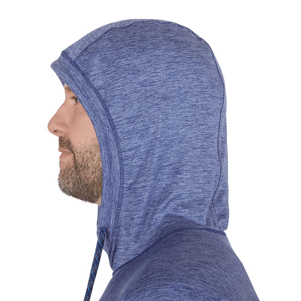 Качулка на мъжка блуза с дълъг ръкав и качулка Outdoor Research Chain Reaction Hoody Twilight Heather 2021