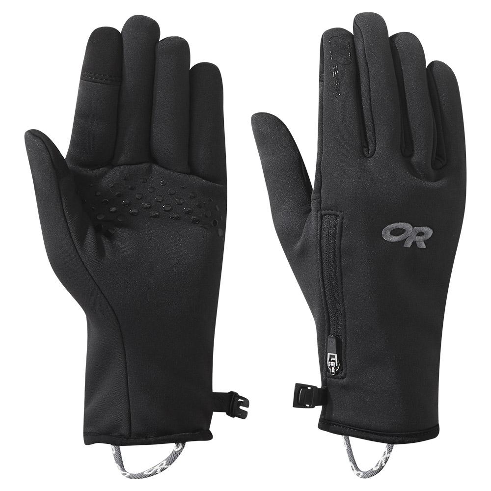 Дамски ръкавици за туризъм и ежедневие Outdoor Research Versaliner Sensor Gloves Black