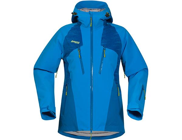 Дамско хардшел ски яке Bergans Oppdal Insulated Lady Jacket Light Winter Sky