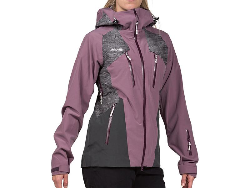 Дамско хардшел ски яке Bergans Oppdal Lady Jacket на манекен