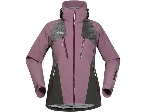 Дамско хардшел ски яке Bergans Oppdal Lady Jacket Dusty Plum