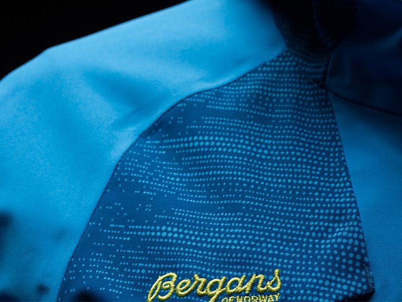 Дамско хардшел ски яке Bergans Oppdal Lady Jacket детайли