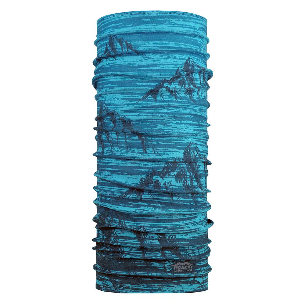Многофункционална кърпа за глава PAC Merino Tech Jallga Mali Blue