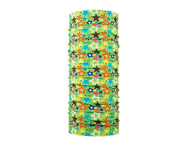 Многофункционална детска кърпа за глава PAC UV Protector+ Kids Mixed Stars