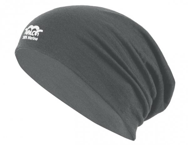 Шапка от мерино вълна PAC Merino Beanie Grey