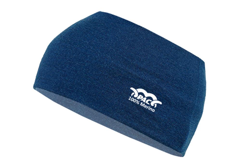 Лента за глава PAC Merino Headband Navy