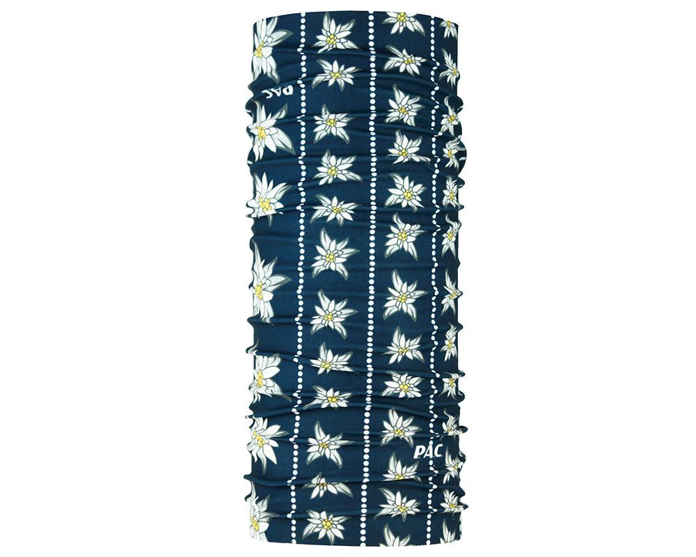 Многофункционална кърпа за глава PAC Edelweis Blau голяма снимка