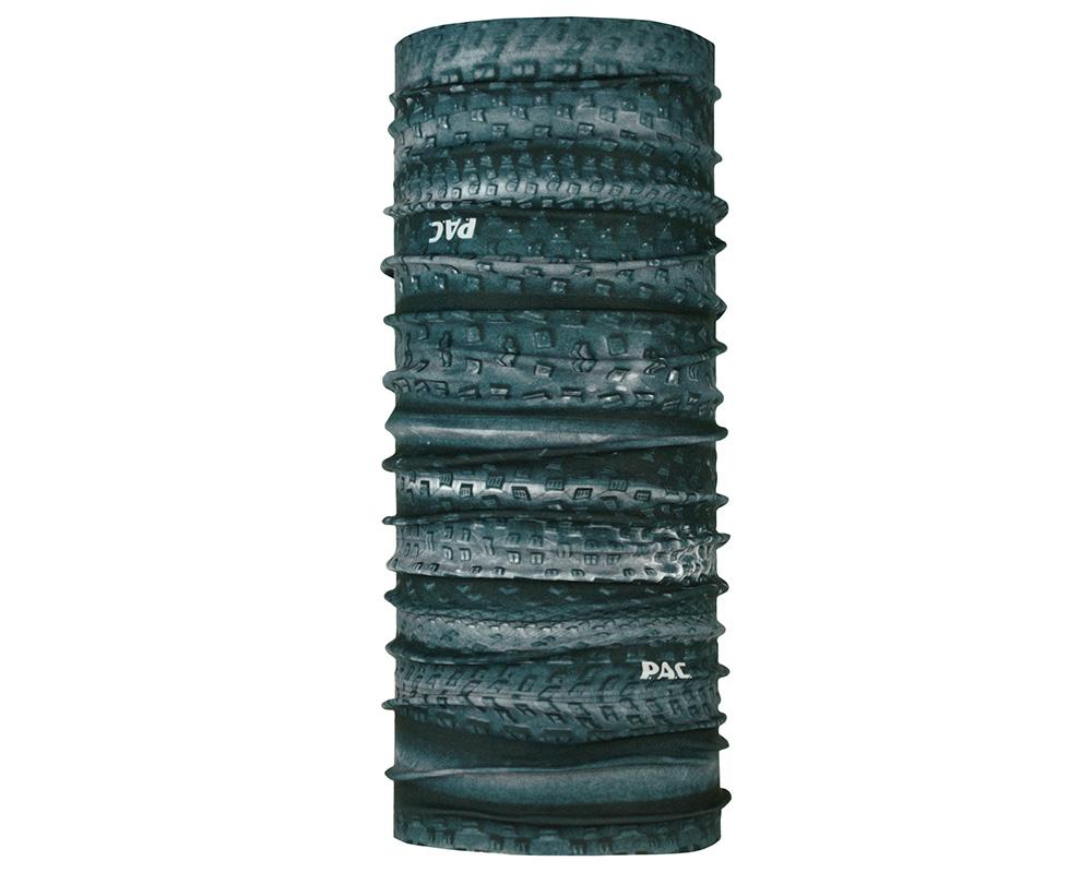 Водоустойчива многофункционална кърпа за глава PAC H2O Tyres Stripes голяма снимка