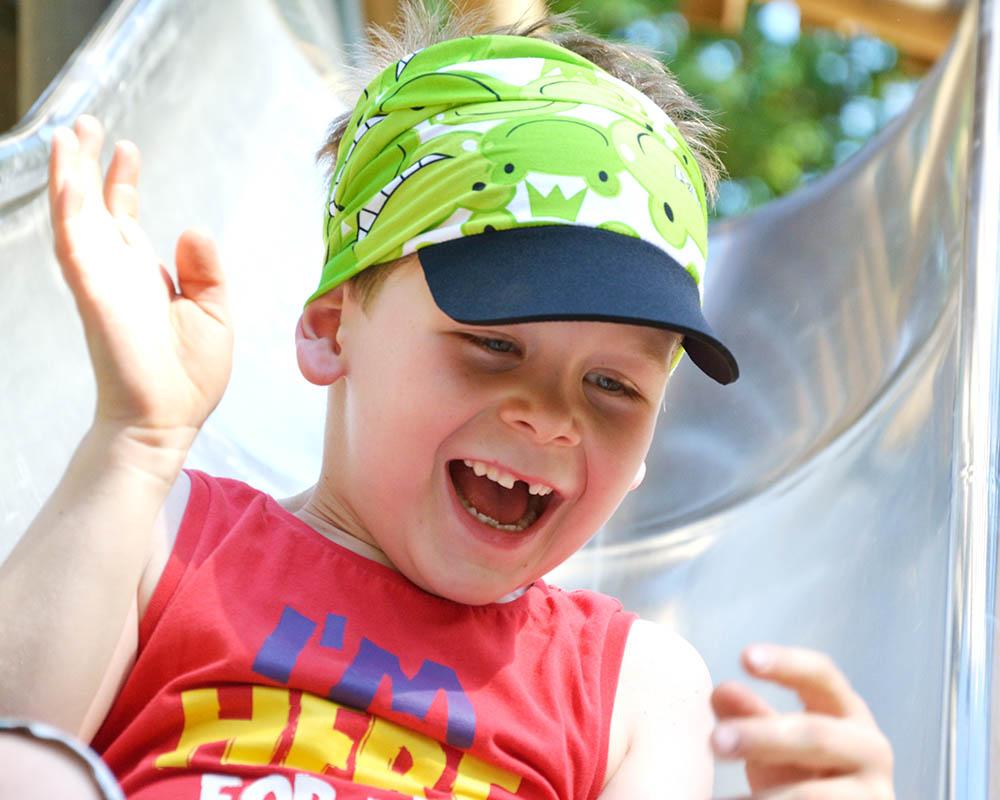 Многофункционална детска кърпа за глава PAC Kids Happy Frog дете