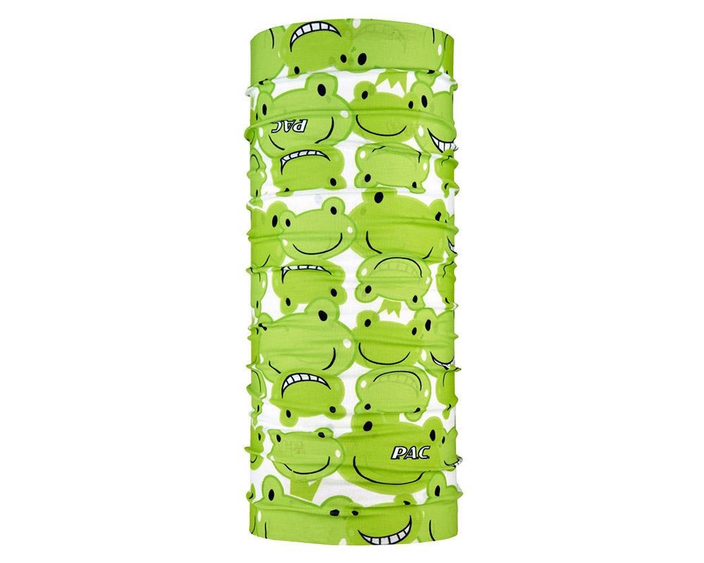 Многофункционална детска кърпа за глава PAC Kids Happy Frog голяма снимка