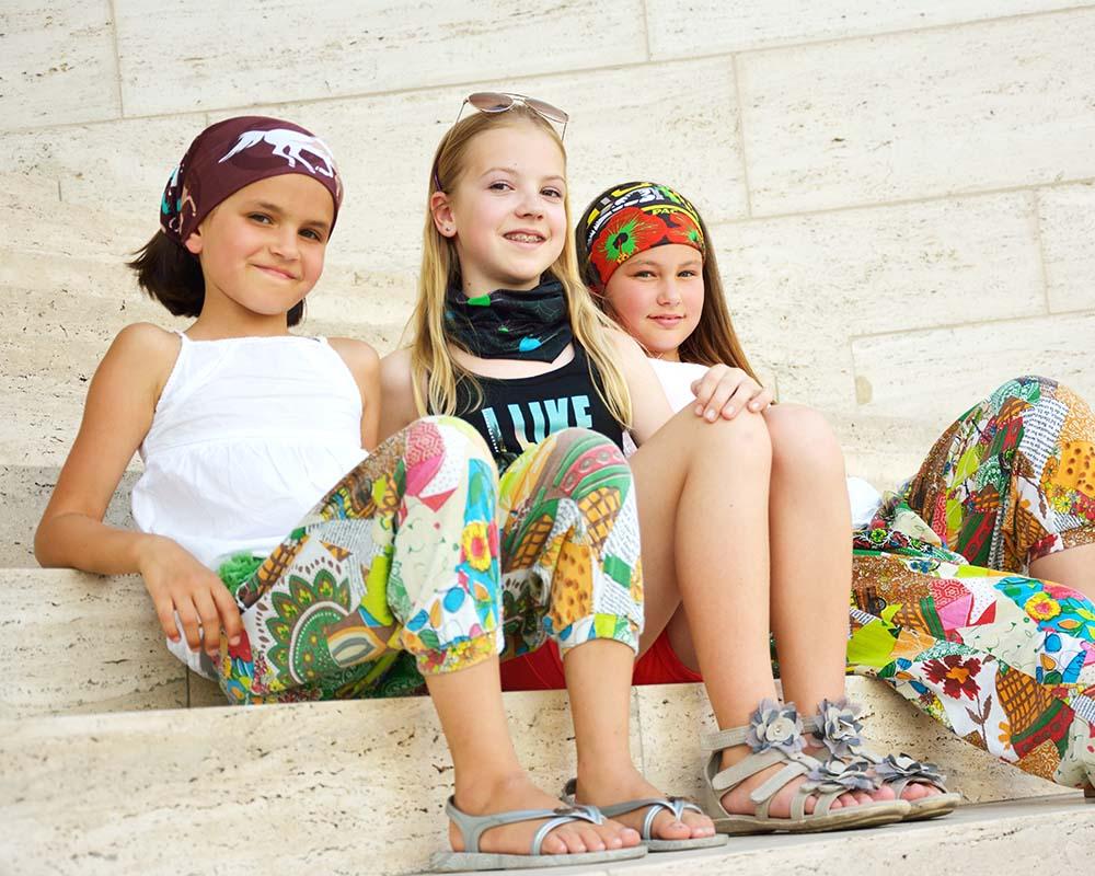 Многофункционална детска кърпа за глава PAC Kids Red Horse деца