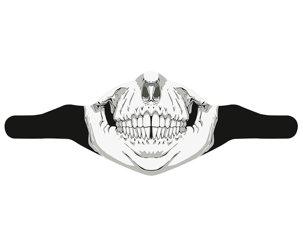 Ски маска за лице PAC MASK´Z Skull голяма снимка